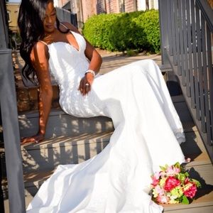 Wedding dress/ prom dress/ pageant dress